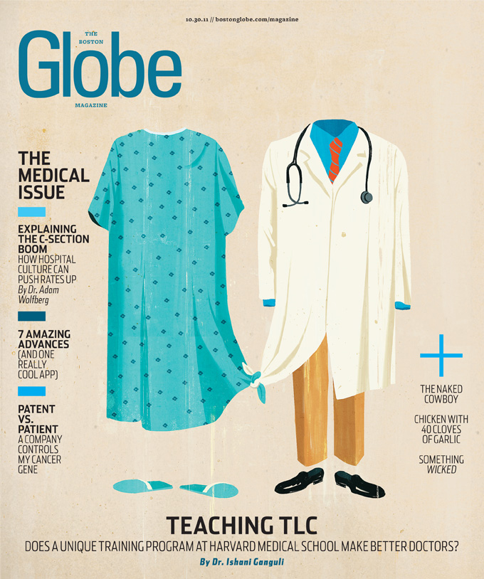 Boston Globe magazine cover October 30 2011 (sketches) [img 6]
