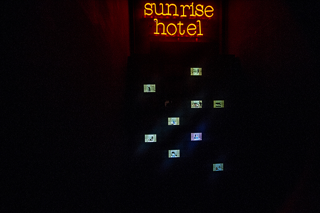 SUNRISE HOTEL at Wunderkammern gallery, Roma [img 11]