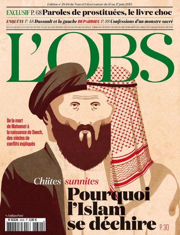 Le Nouvel Observateur cover