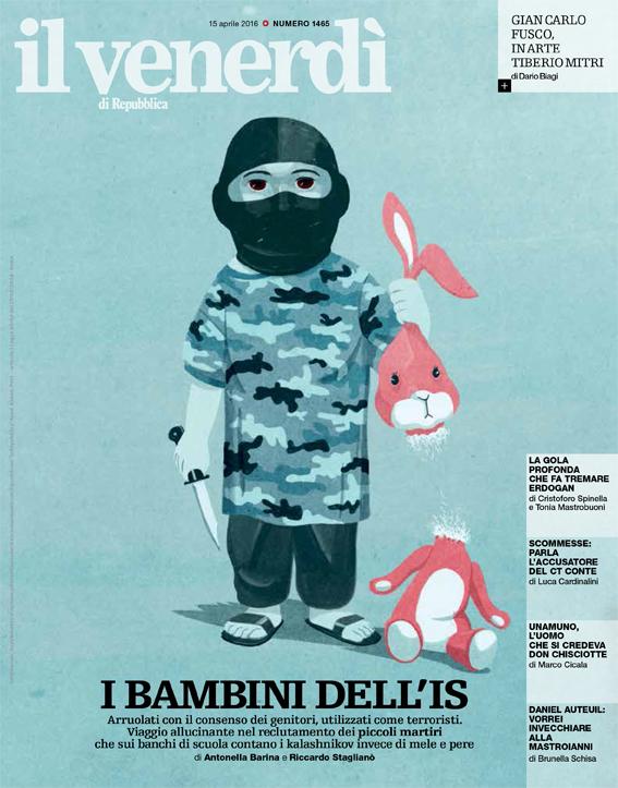 Il venerdì di repubblica, Bambini dell'Isis