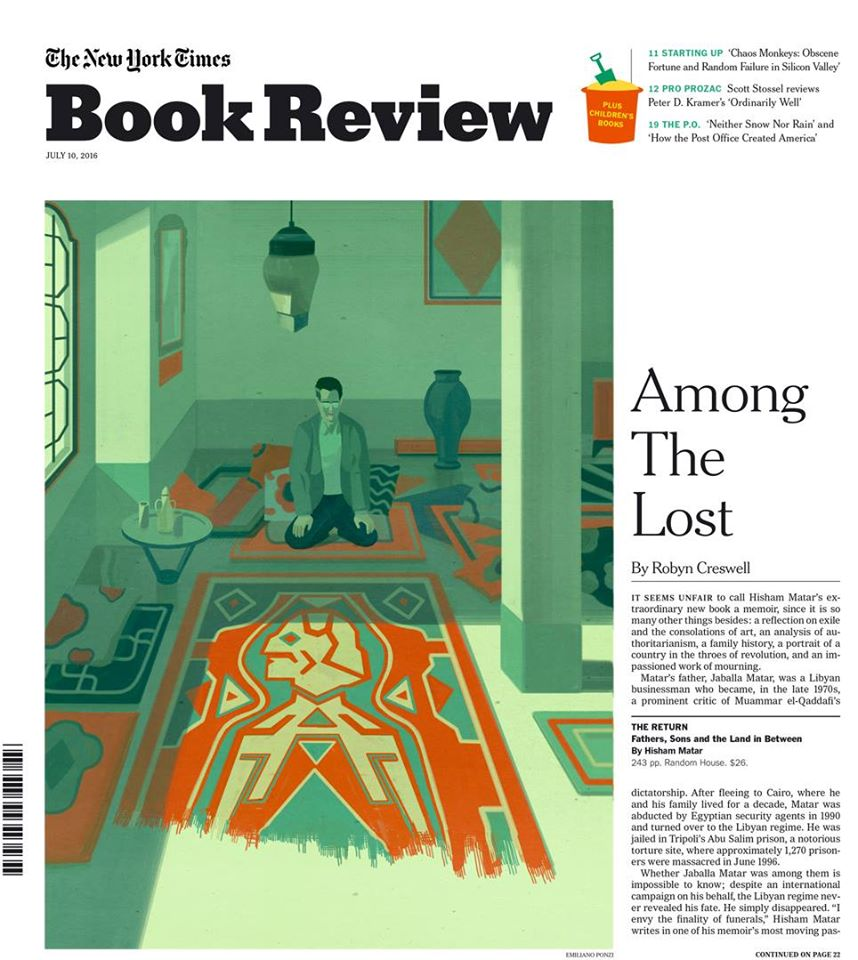Emiliano Ponzi The New York Times book review cover