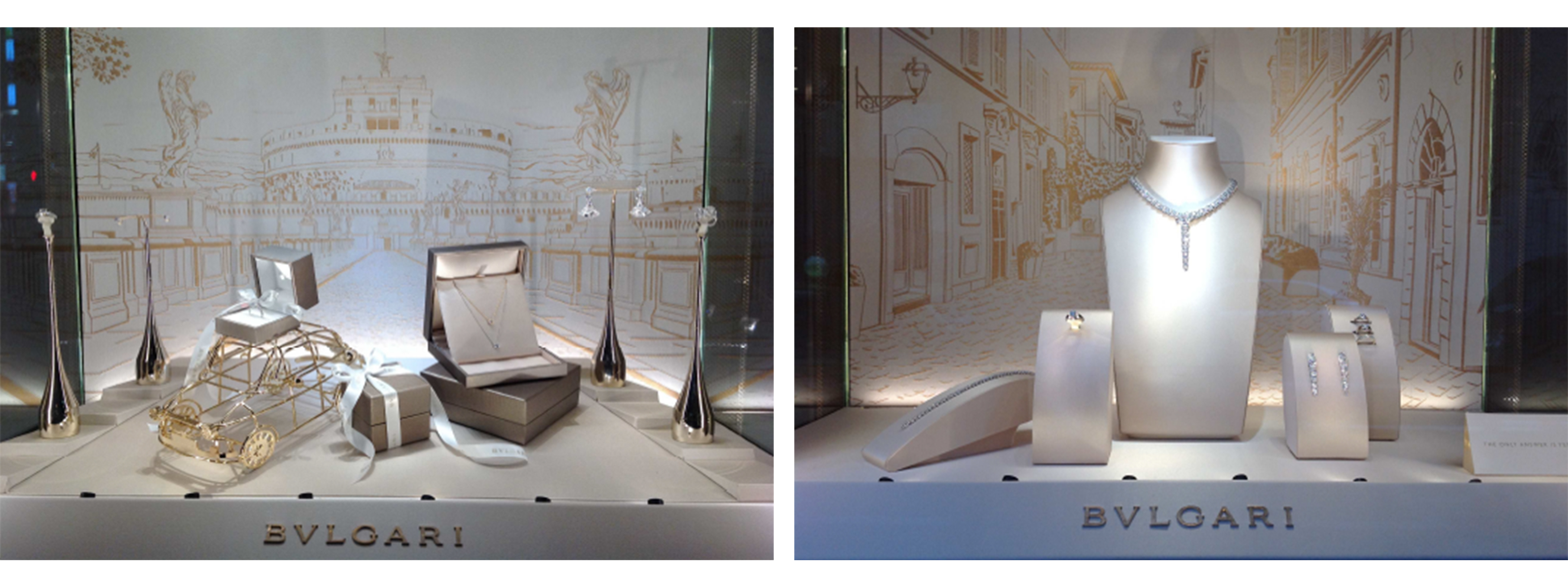Bulgari Bridal Asia, Windows Installation by Emiliano Ponzi 6