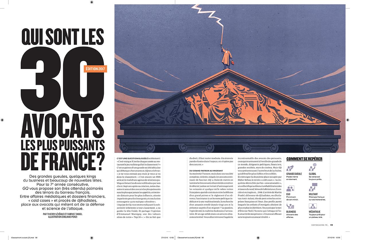 GQ Les 30 avocats les plus puissants de France Emiliano Ponzi 1