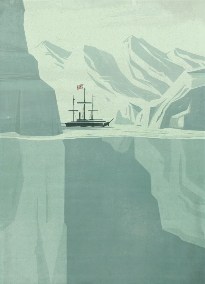 POLAR EXPRESSED, Emiliano Ponzi New Yorker Magazine