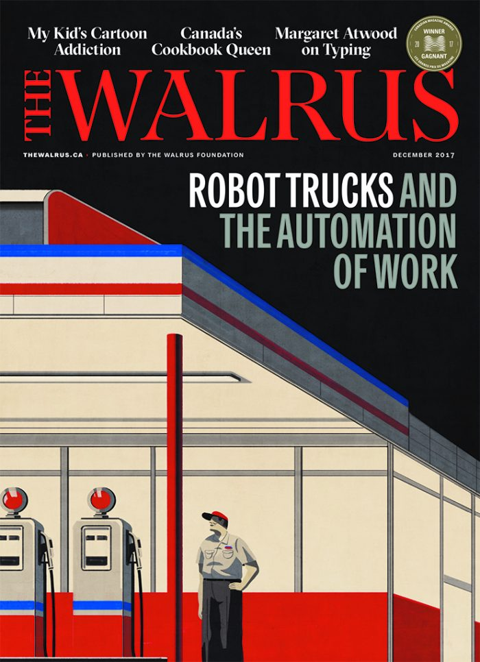 Robot trucks and the automation of work The Walrus, Emiliano Ponzi