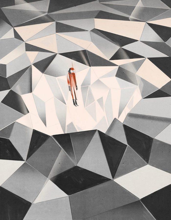 Jumping into the net, Havas | Emiliano Ponzi