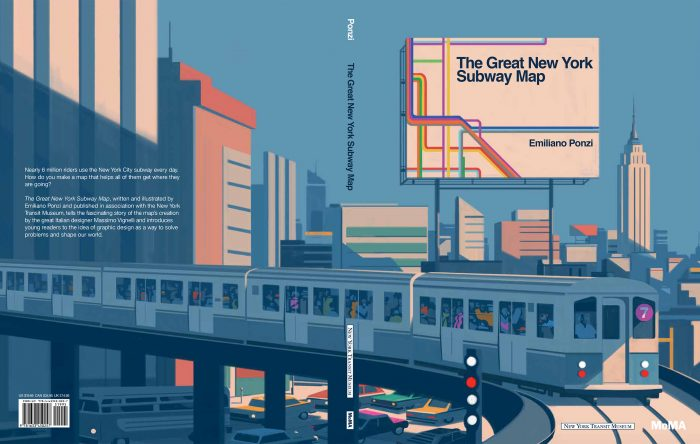 The Great New York Subway Map, Emiliano Ponzi 7
