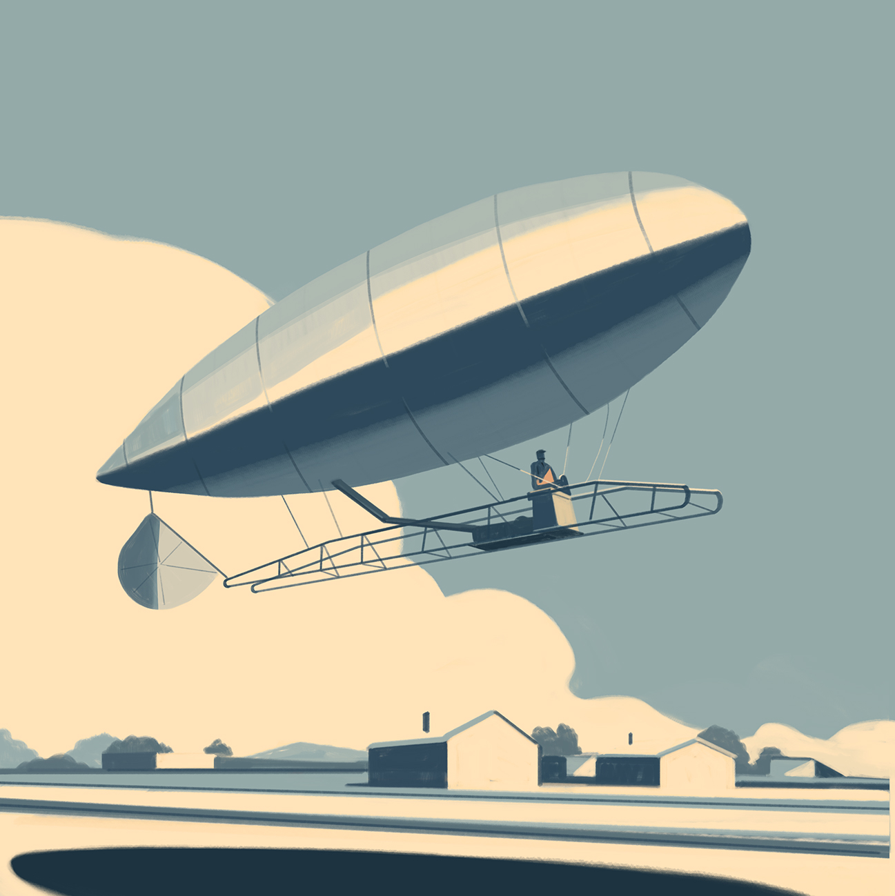 A story written in the clouds, Emiliano Ponzi 2
