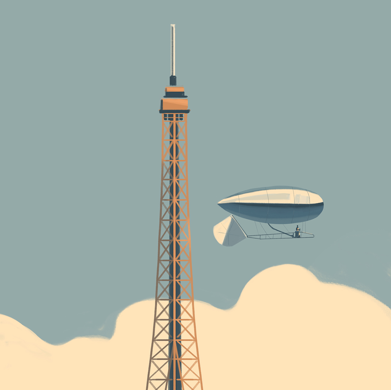 A story written in the clouds, Emiliano Ponzi 3