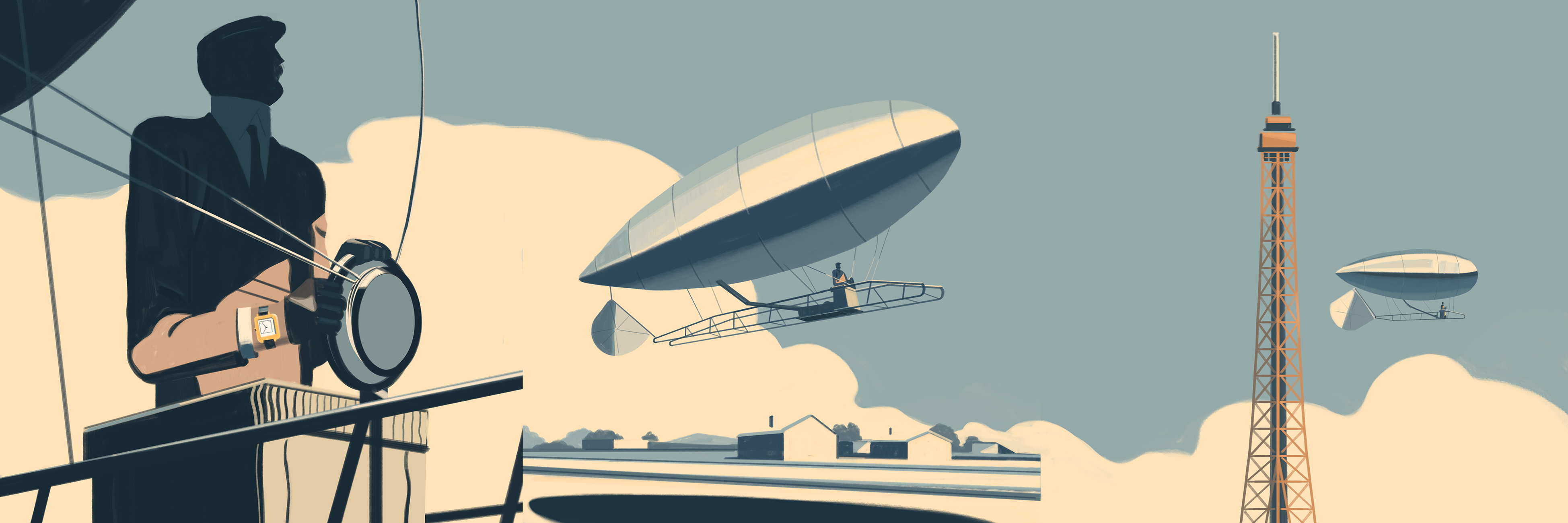 A story written in the clouds, Emiliano Ponzi 4