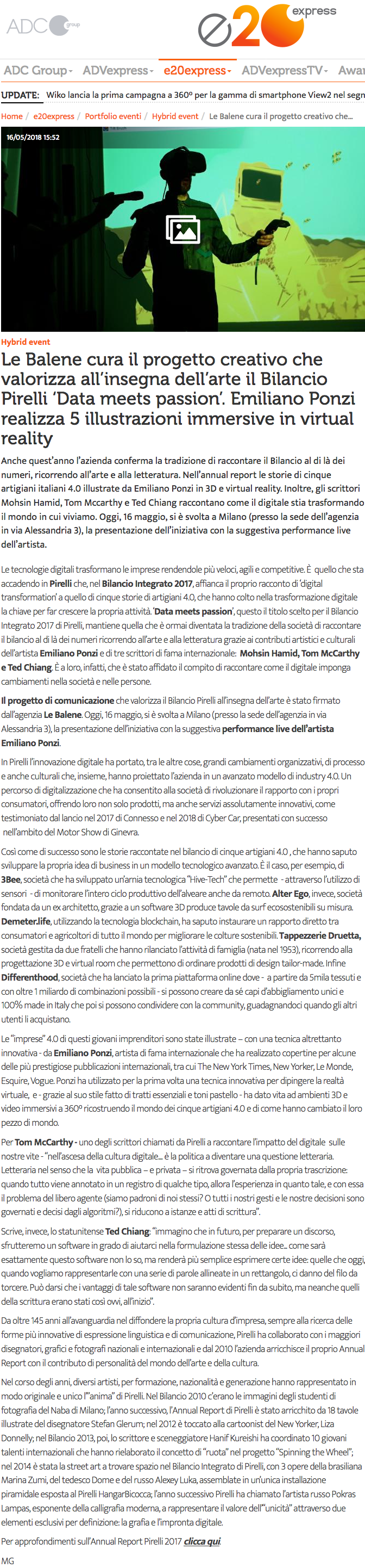 ADC Group Pirelli Emiliano Ponzi