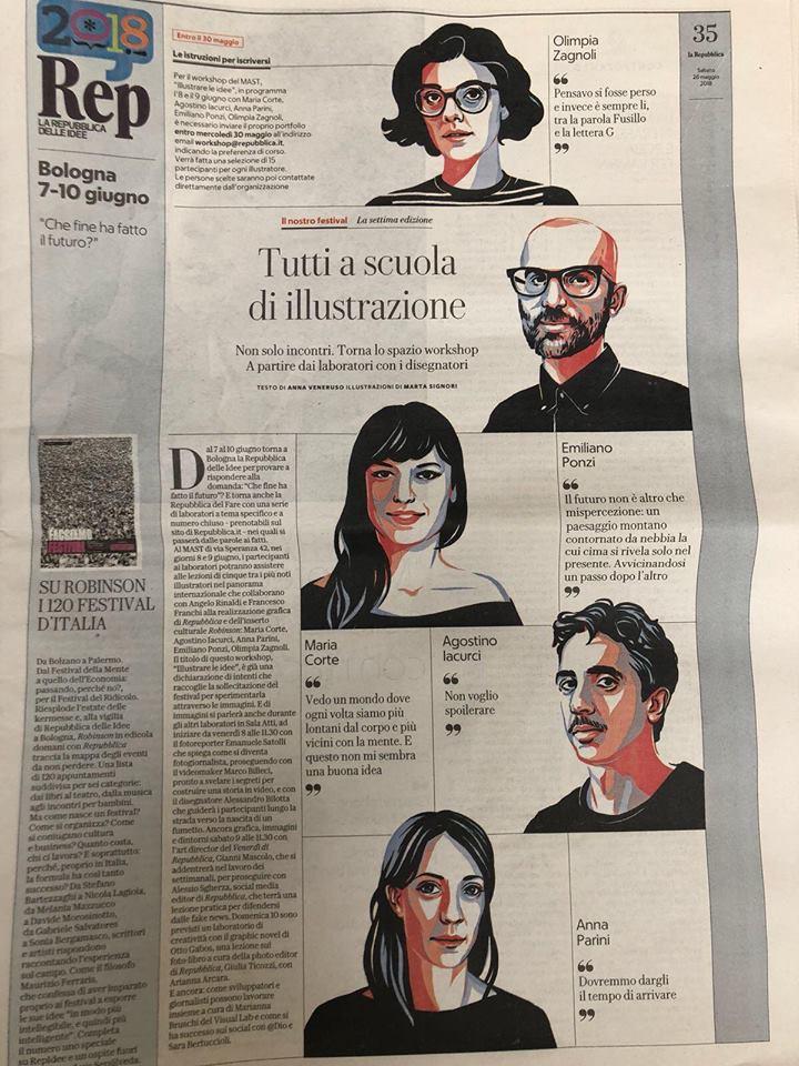 Illustrare le Idee, Emiliano Ponzi 2